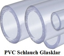 PVC Schlauch transparent