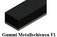 gummi metall schienen einseitig flachstahl onlineshop technischer handel straub. Black Bedroom Furniture Sets. Home Design Ideas