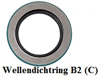 Wellendichtring B2 (C)